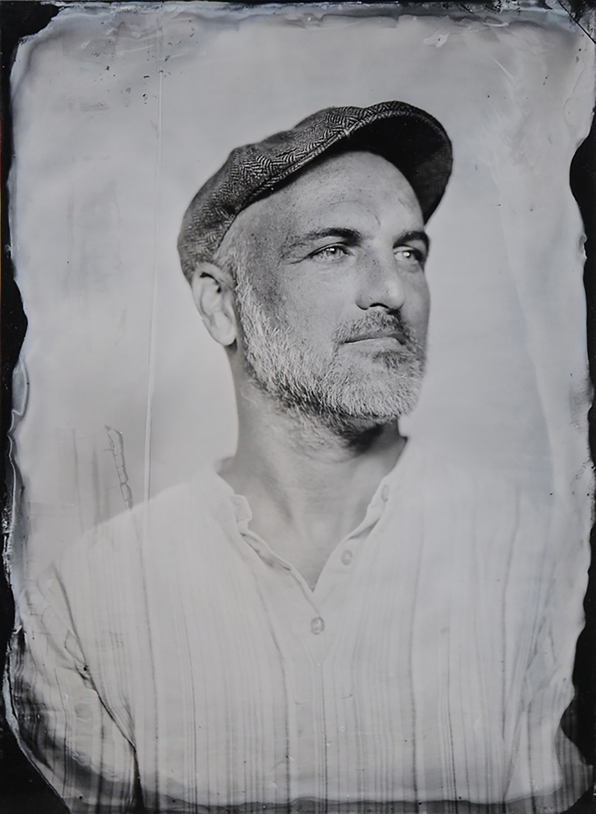 Portrait 1 Wet Plate Collodion Bill Moseley