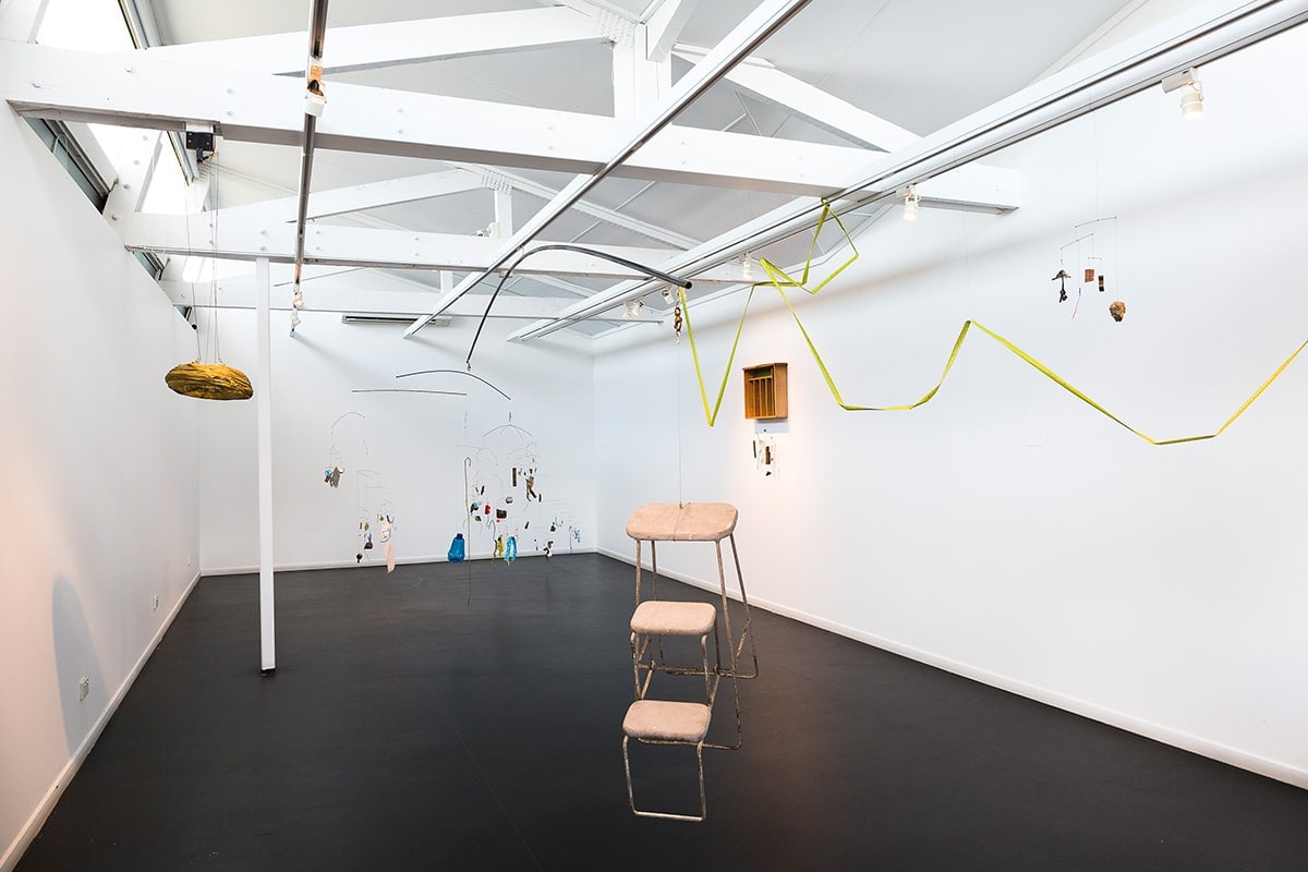 Rebecca Gallo, Lifted, installation view at Peacock Gallery 2019, photo: Document Photography
